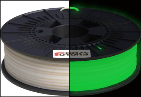 3D-Drucker-Filament-Glow-in-the-dark-Gruen-PLA-1.75 mm