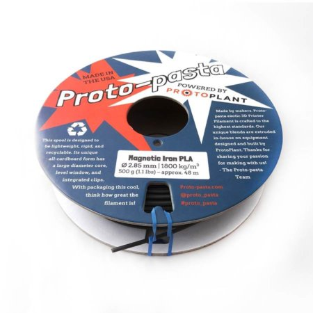 Proto-Pasta Magnetic Iron Filament 3 mm