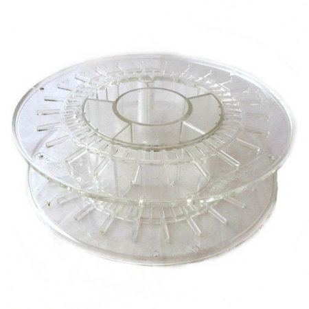3D Drucker Filament Leerrolle - Transparent