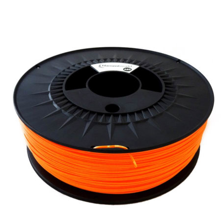 ABS Filament 1.75 mm Neon Orange