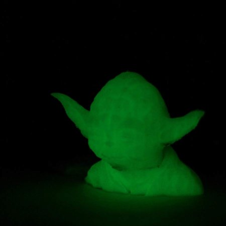 PETG Filament - Glow in the Dark Grün