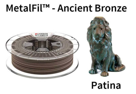 Metalfil Filament - Ancient Bronze - Patina