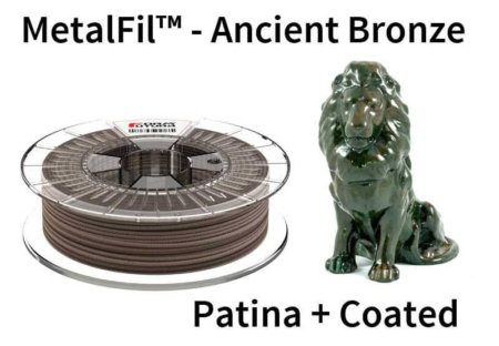 Metalfil Filament - Ancient Bronze - Patina und XTC 3D Epoxidharz