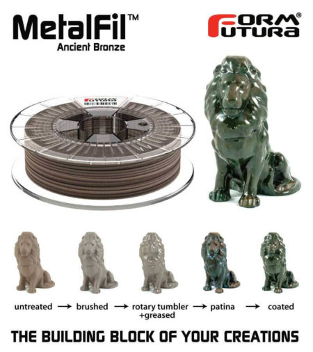 Metalfil Filament - Ancient Bronze - Übersicht