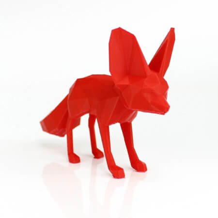 3D Drucker PLA Plus Filament - Rot