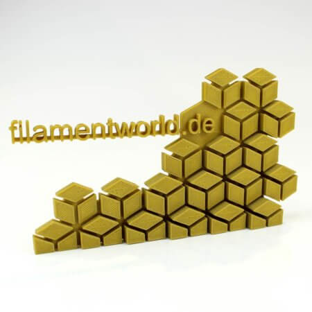 3D Drucker PLA Filament - Gold