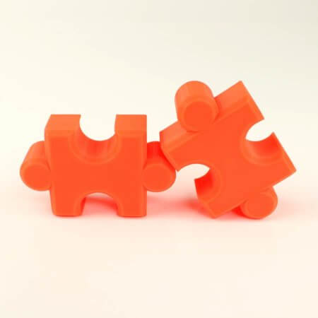 3D Drucker PLA Filament - Neon Orange