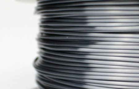 PLA Silk Filament - Grau - 1.75 mm