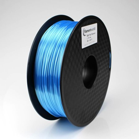 PLA Silk Filament - Hellblau - 1.75 mm