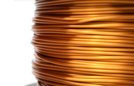 PLA Silk Filament - Kupfer - 1.75 mm