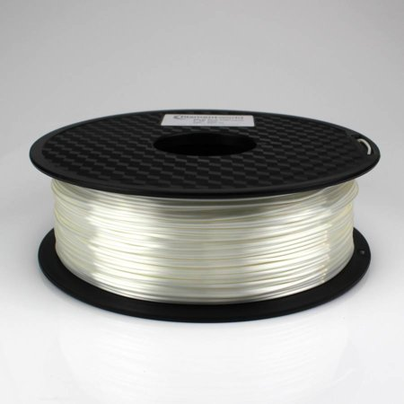 PLA Silk Filament - Weiß - 1.75 mm