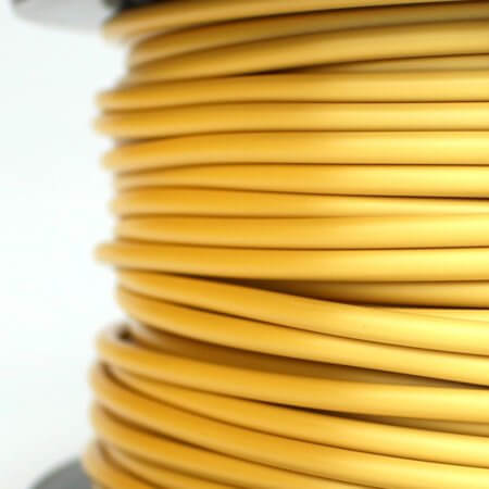 PLA Silk Filament - Gold - 2.85 mm