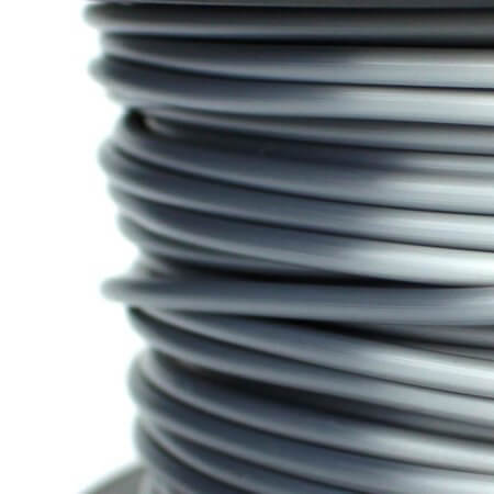 PLA Silk Filament - Grau - 2.85 mm