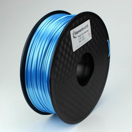 PLA Silk Filament - Hellblau - 2.85 mm