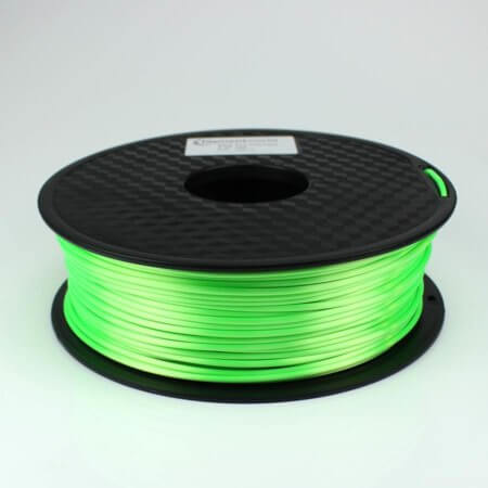 PLA Silk Filament - Hellgrün - 2.85 mm