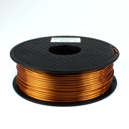 PLA Silk Filament - Kupfer - 2.85 mm