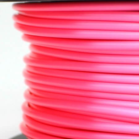 PLA Silk Filament - Pink - 2.85 mm