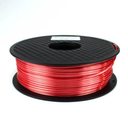 PLA Silk Filament - Rot - 2.85 mm