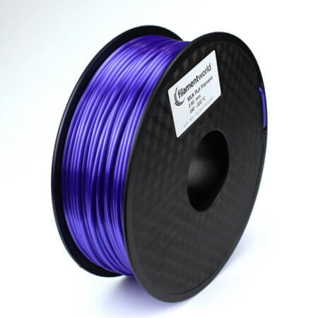 PLA Silk Filament - Violett - 2.85 mm