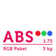 ABS Filament 1.75 mm - RGB Paket