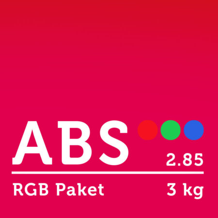 ABS Filament 2.85 mm - RGB Paket