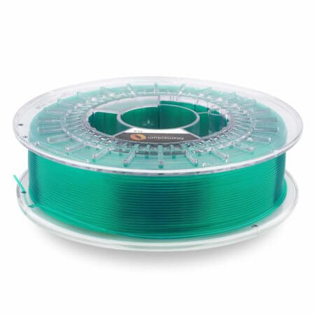Fillamentum - PLA Crystal Clear Filament - Smaragd Green