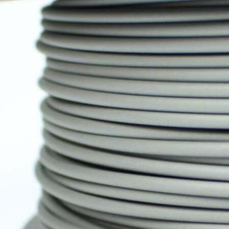 PLA MATT Filament - Filamentworld - Grau - 2.85 mm