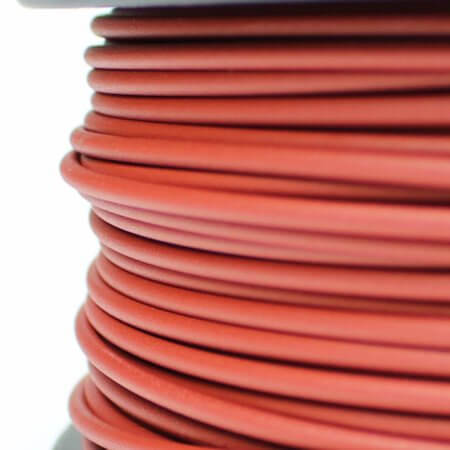 PLA MATT Filament - Filamentworld - Rot - 2.85 mm