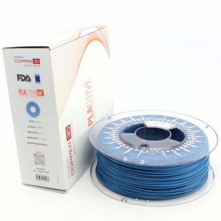 Copper 3D Filament - PLActive - Blau - 1.75 mm