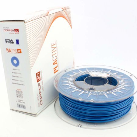 Copper 3D Filament - PLActive - Blau - 2.85 mm