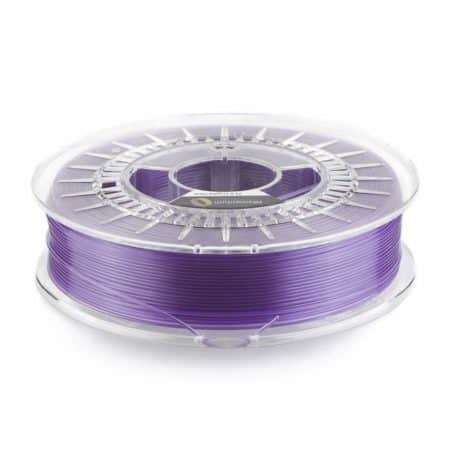 3D Drucker PLA Filament - Crystal Clear - Amethyst Purple - Fillamentum