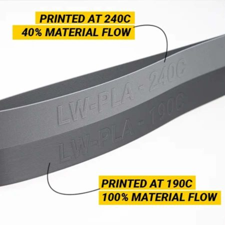 Colorfabb - PLA-LW - Light Weight PLA - Silber